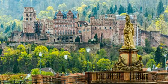 Heidelberg/Neckar: Schloss