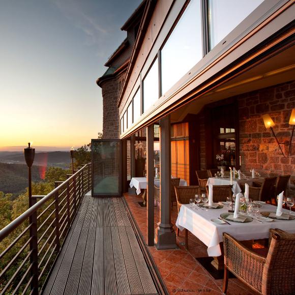 Romanticism hotel on the Wartburg © Henrike Schunck
