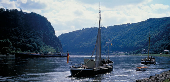 Loreley at the river Rhine © DZT