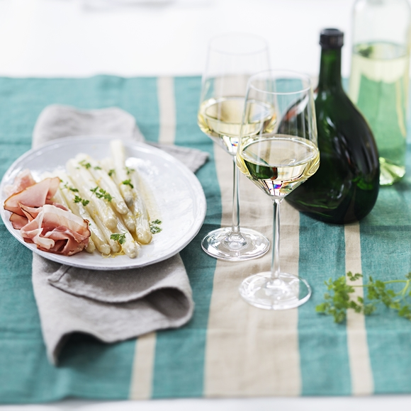 Spargel und Wein (ID: 15037)