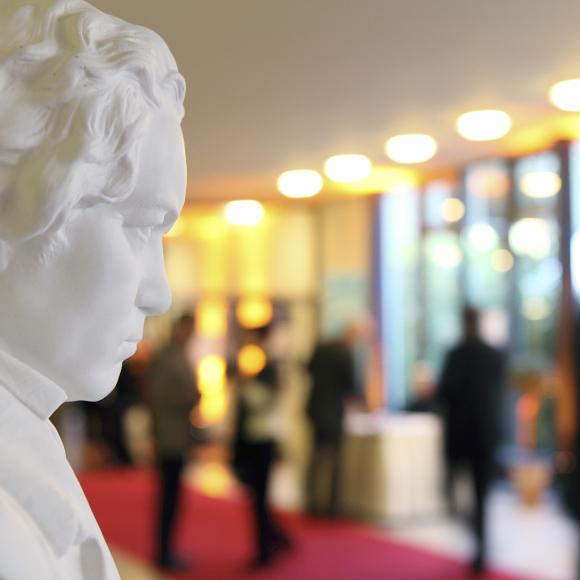 Bonn: bust of Beethoven, Beethoven Festival