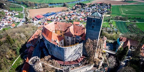 Castle Road - Guttenberg Castle in Haßmersheim