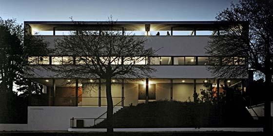 Stuttgart, Weissenhofsiedlung, Weissenhofmuseum im Haus Le Corbusier
