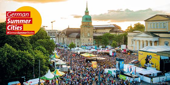 Darmstadt: Schlossgrabenfest