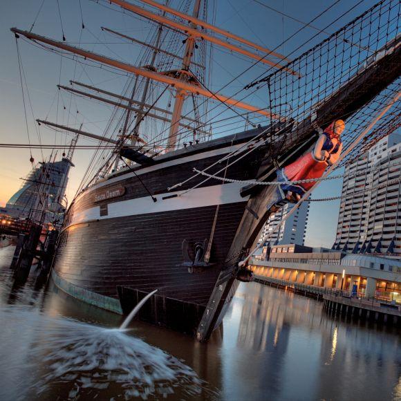 Vintage Ships in Bremerhaven