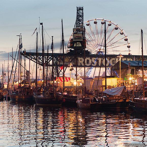 Rostock: Hanse Sail; museum of harbour