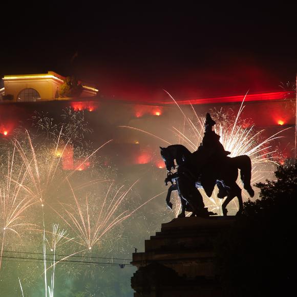 Koblenz: Rhein in Flammen; fireworks