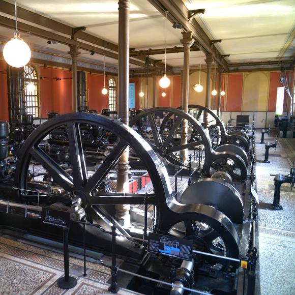 Augsburg: Waterworks at the Hochablass