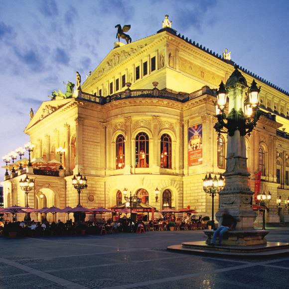 Frankfurt/Main: Alte Oper, Opera House