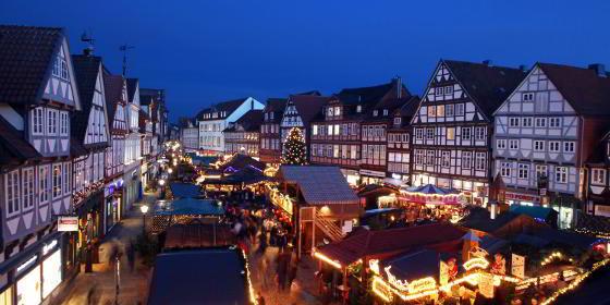 Kerstmarkt in Celle