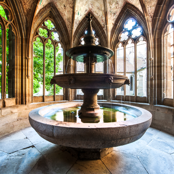Maulbronn: in the fountain chapel of the monastery
