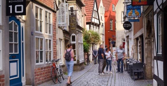 Bremen: Schnoor Quarter