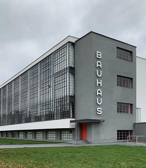 Dessau: Bauhaus, UNESCO World Heritage Site, main