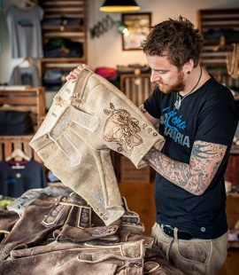 Michael Thalhammer, Lederhosen Tattoo Artist