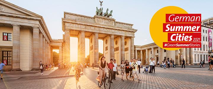 German Summer Cities Header