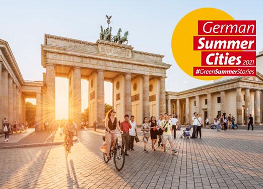 German Summer Cities Key Visual