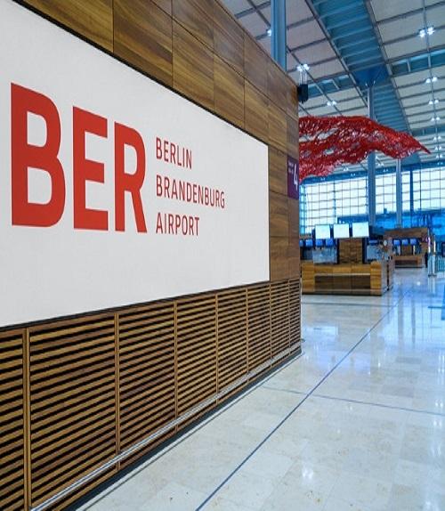 Entry Hall of Berlin Brandenburg Airport