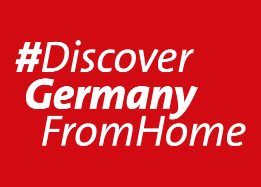 Discover Germany from Home key visual