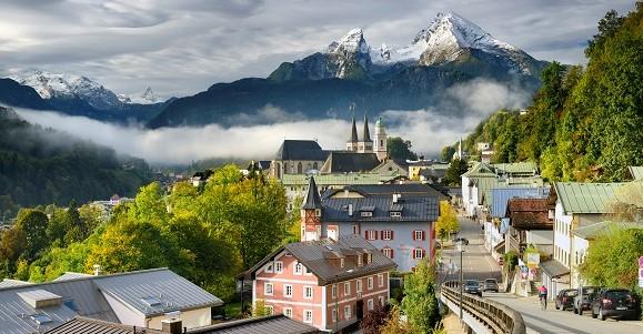 Berchtesgaden: View of Watzmann (2,713m)