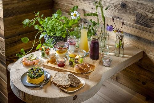 Garmisch-Partenkirchen: Breakfast at the Werdenfelserei Hotel