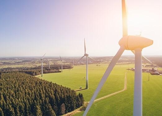 Blick über die Windräder © DZT, Rötgen Getty Images/Alexander Kirch; EyeEm