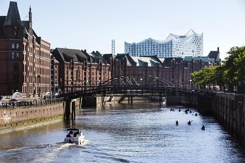 Hamburg: Speicherstadt, UNESCO world heritage