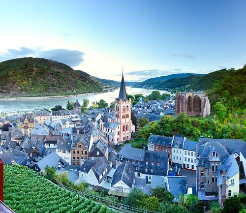 "Bacharach – Part of UNESCO world heritage ""Oberes Mittelrheintal"""